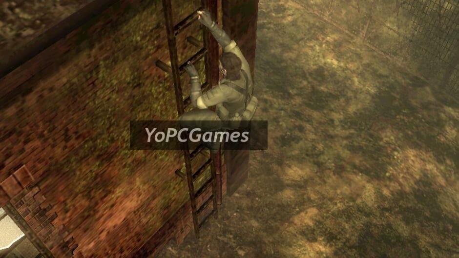 metal gear solid: snake eater 3d screenshot 3