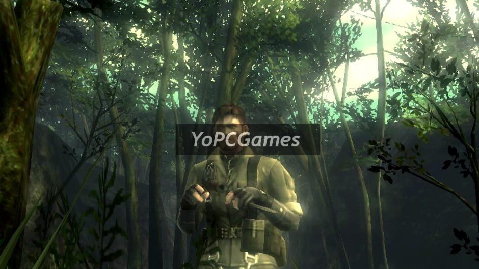metal gear solid: snake eater 3d screenshot 5