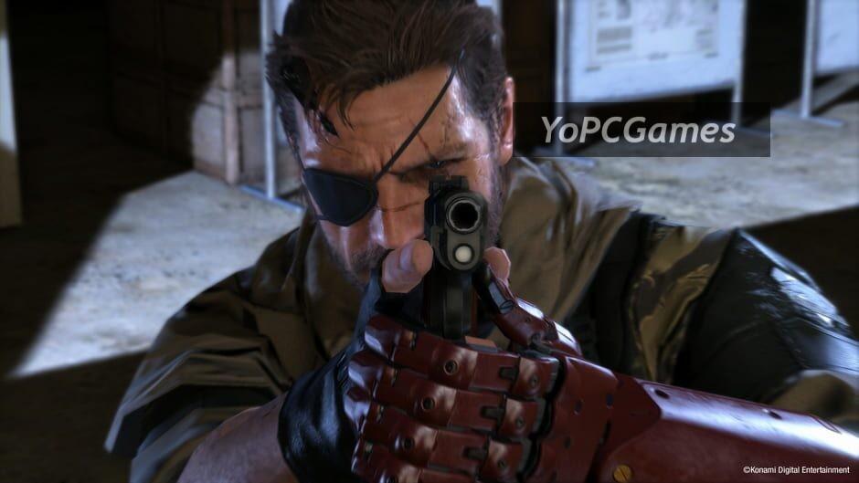 metal gear solid v: the phantom pain screenshot 5