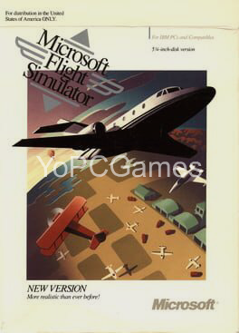 microsoft flight simulator 4.0 pc game