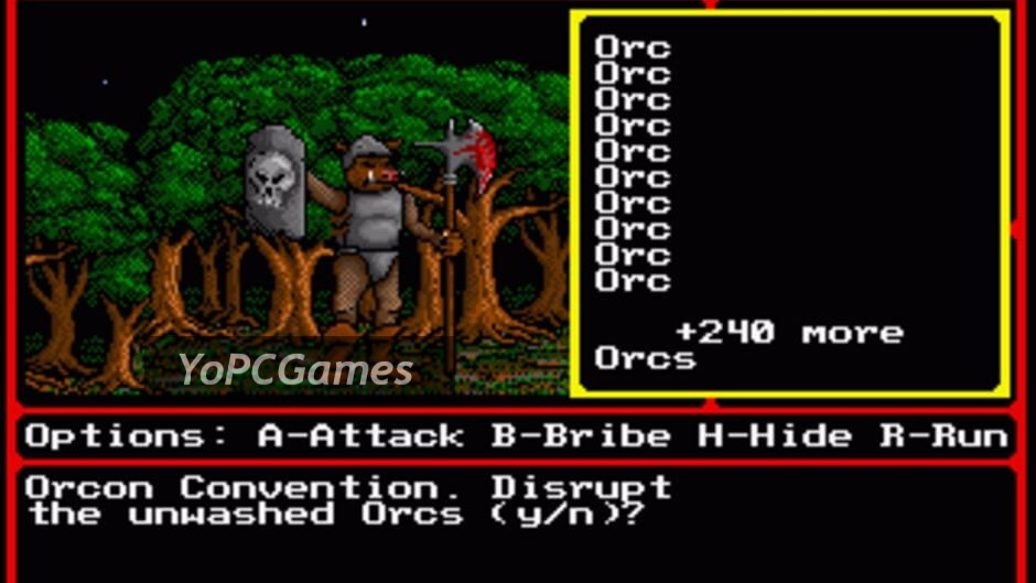 might and magic ii: gates to another world screenshot 2