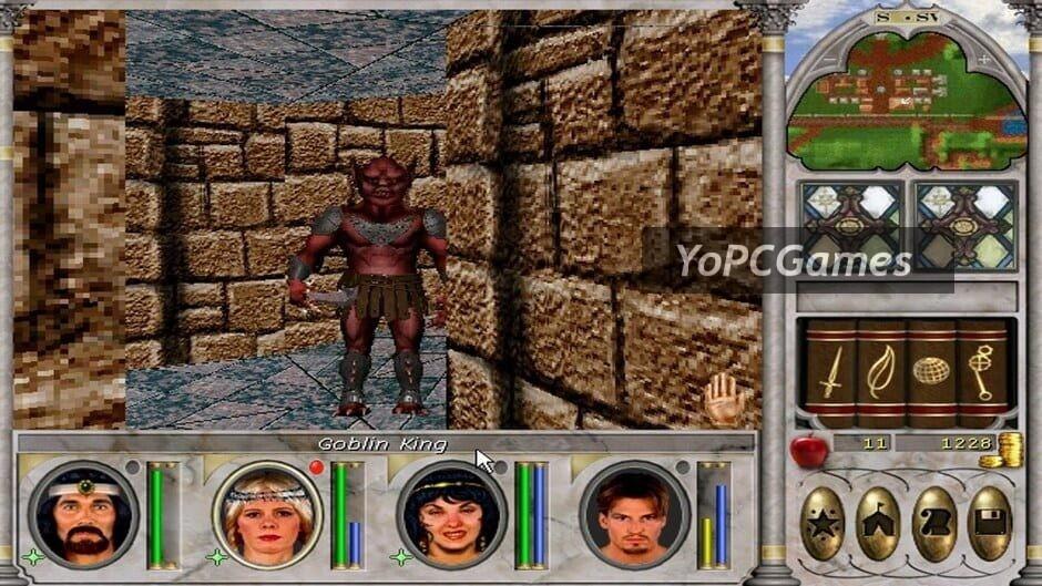 might and magic vi: the mandate of heaven screenshot 1