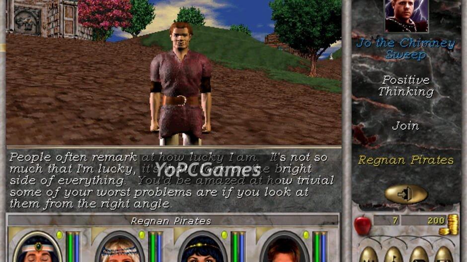 might and magic vi: the mandate of heaven screenshot 2