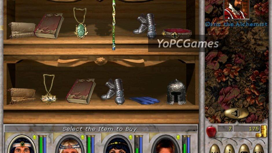 might and magic vi: the mandate of heaven screenshot 5