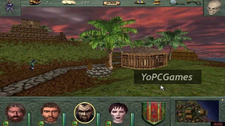 might and magic viii: day of the destroyer screenshot 1