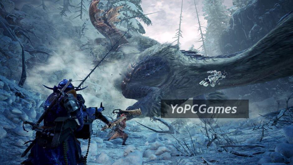 monster hunter: world - iceborne screenshot 1