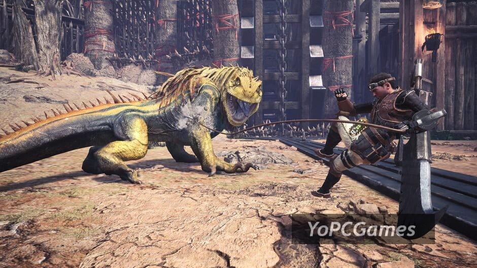 monster hunter: world - iceborne screenshot 2