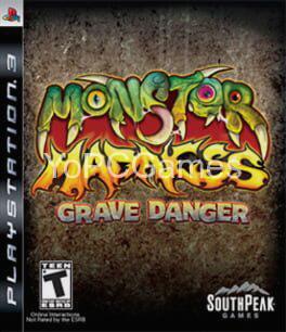 monster madness: grave danger cover