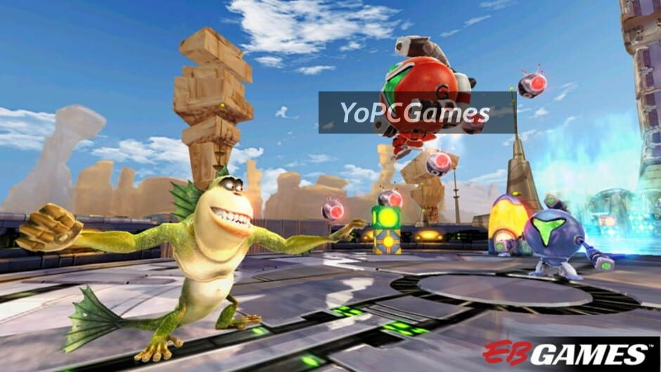 monsters vs. aliens screenshot 2
