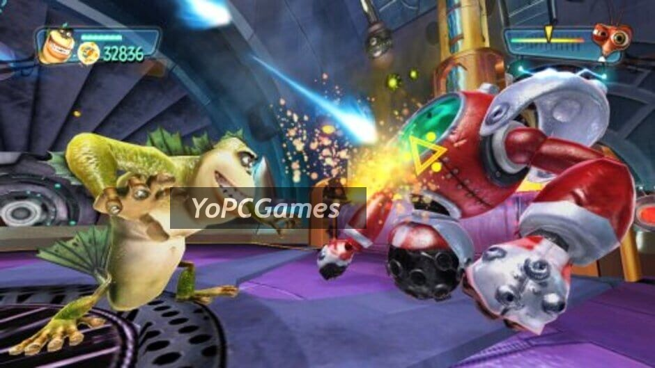 monsters vs. aliens screenshot 4
