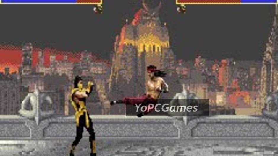 mortal kombat advance screenshot 4
