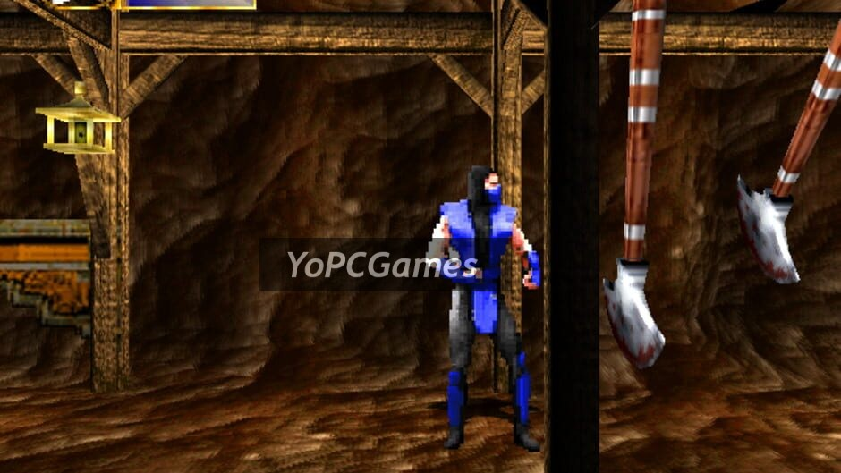mortal kombat mythologies: sub-zero screenshot 5