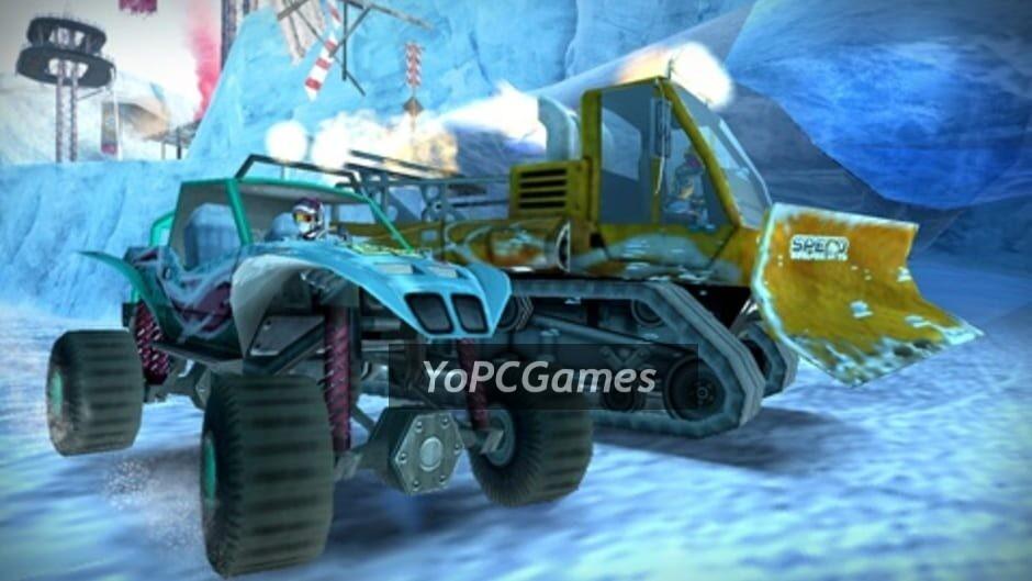 motorstorm: arctic edge screenshot 2
