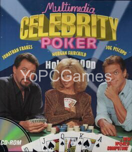 multimedia celebrity poker poster