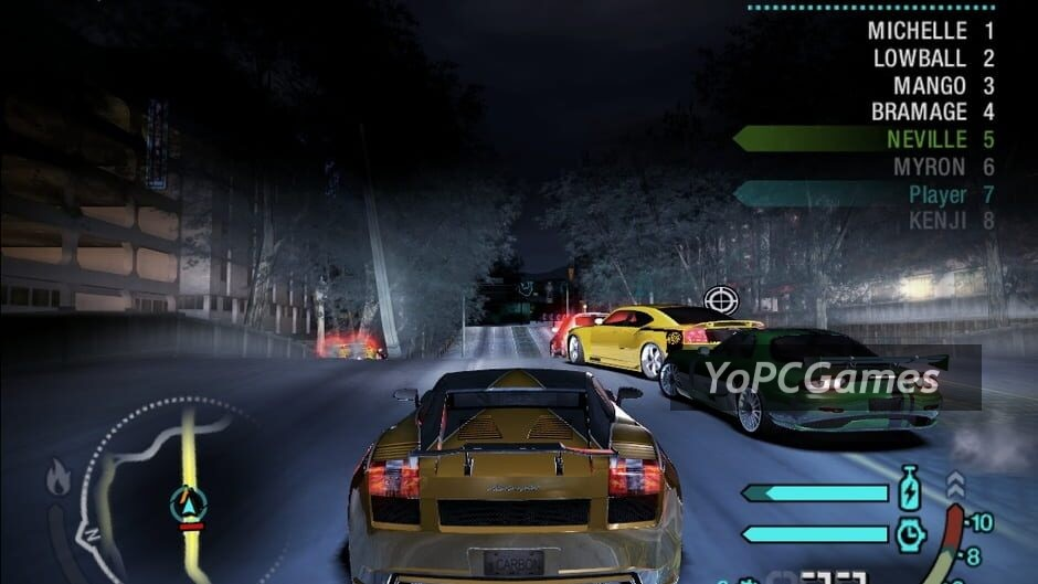 need for speed: carbon screenshot 3