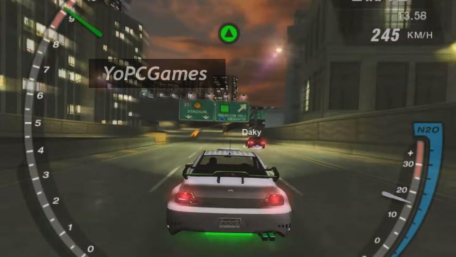 need for speed: underground 2 screenshot 2