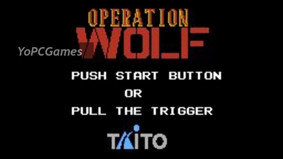 operation wolf screenshot 3
