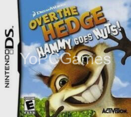 over the hedge: hammy goes nuts! poster