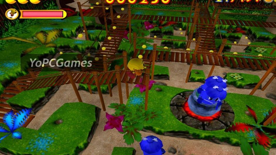 pac-man: adventures in time screenshot 2
