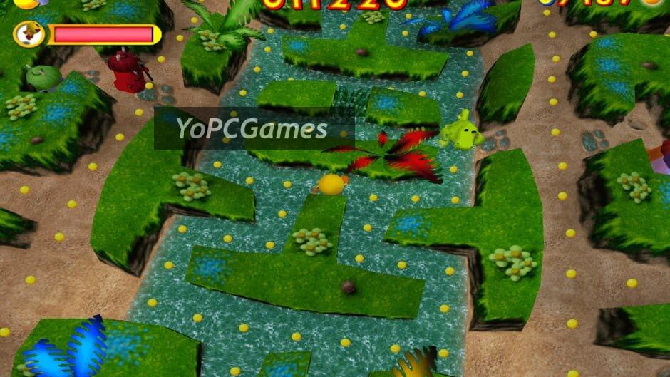 pac-man: adventures in time screenshot 4