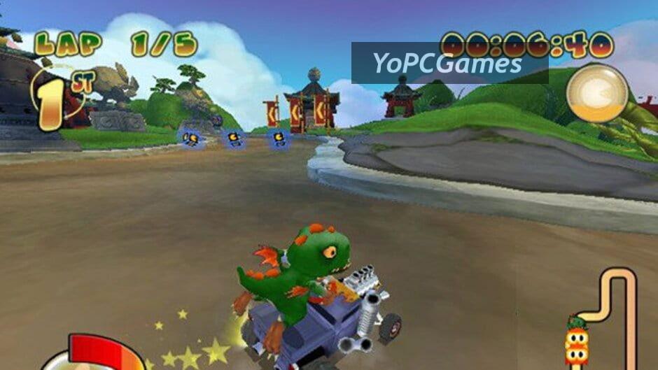 pac-man world rally screenshot 1