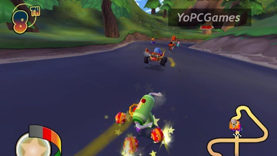 pac-man world rally screenshot 2