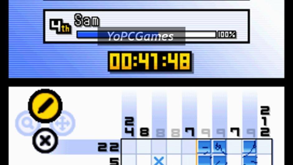 picross ds screenshot 3