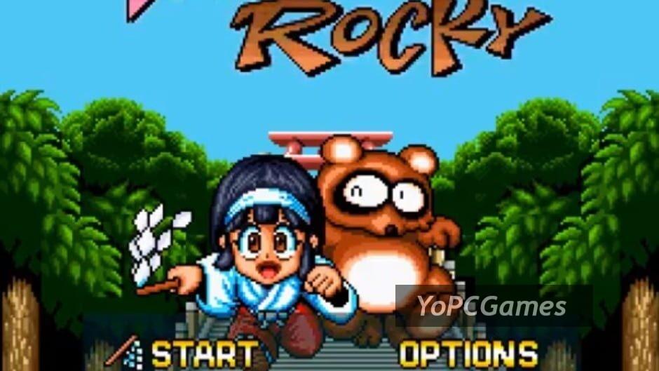 pocky & rocky screenshot 3