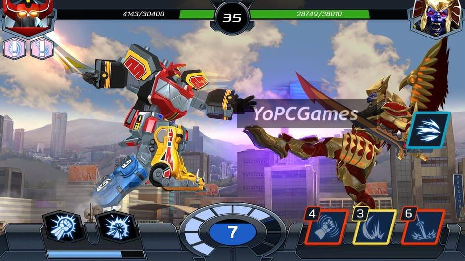 power rangers: legacy wars screenshot 1