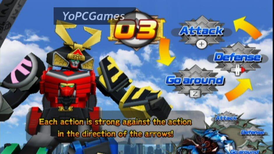 power rangers samurai screenshot 4