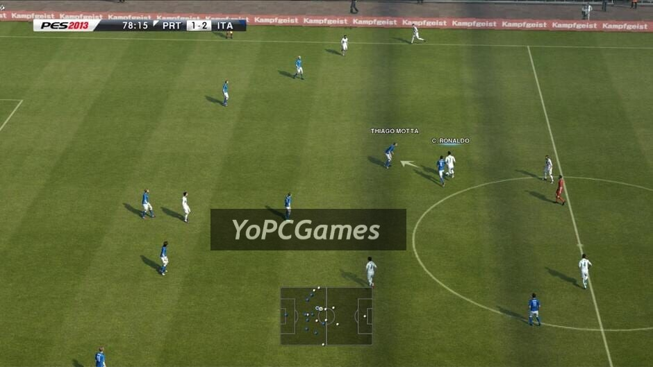 pro evolution soccer 2013 screenshot 3