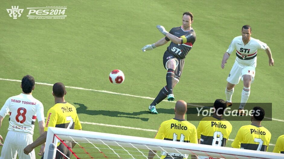pro evolution soccer 2014 screenshot 1