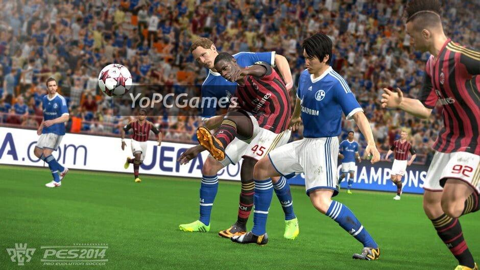 pro evolution soccer 2014 screenshot 2