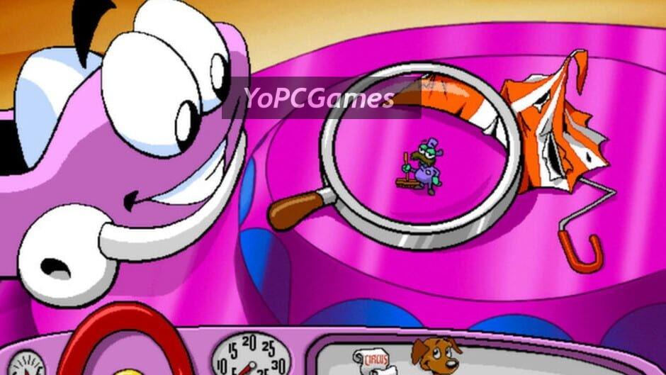 putt-putt joins the circus screenshot 5