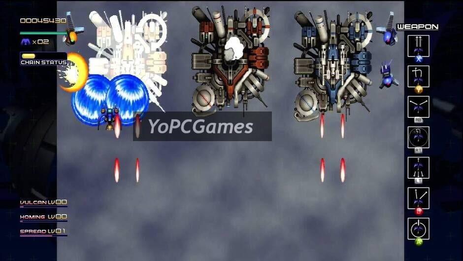 radiant silvergun screenshot 3