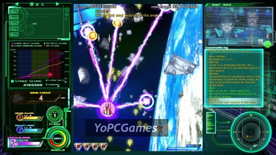raiden v screenshot 2