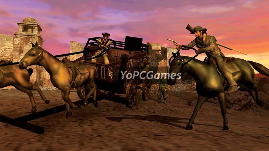 red dead revolver screenshot 2