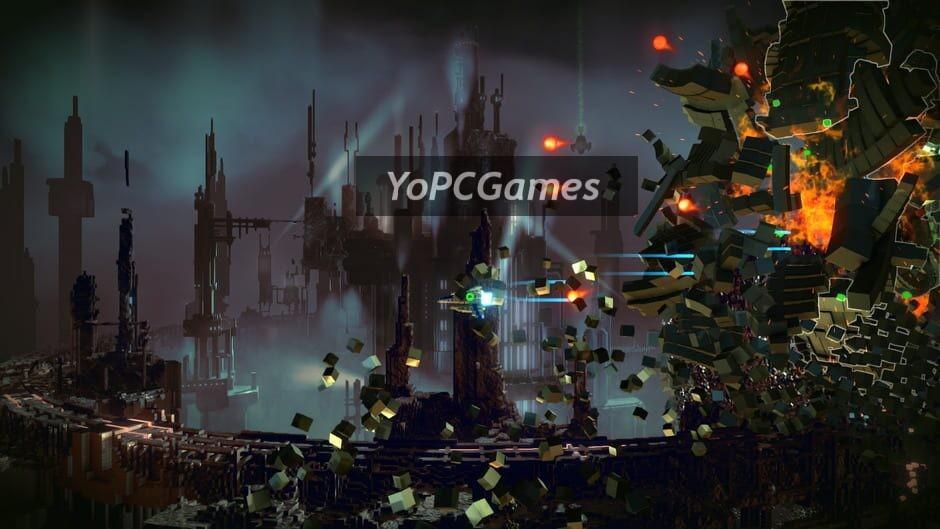 resogun screenshot 5