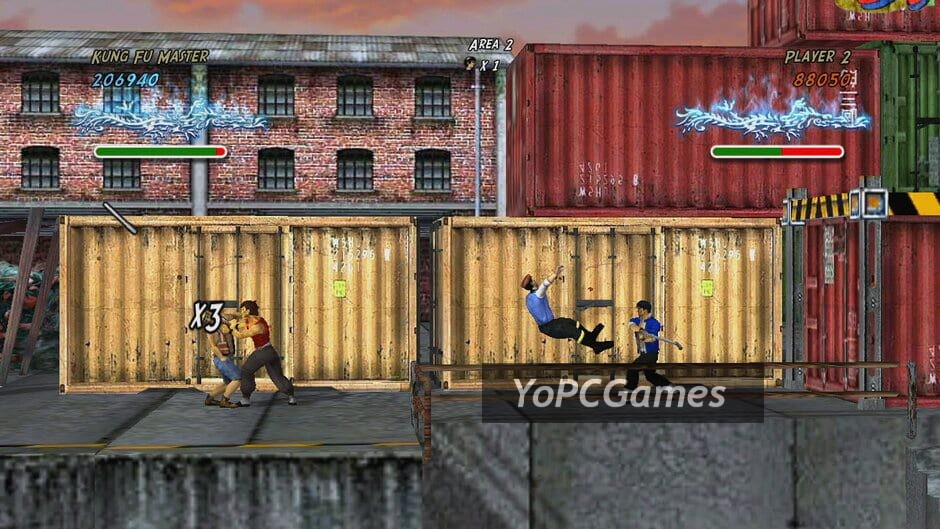 revenge of the wounded dragons screenshot 1