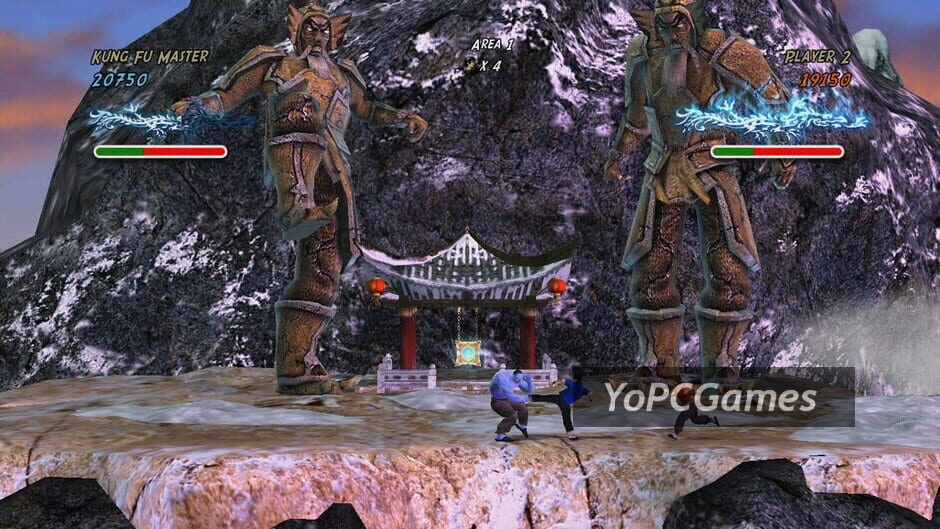 revenge of the wounded dragons screenshot 2