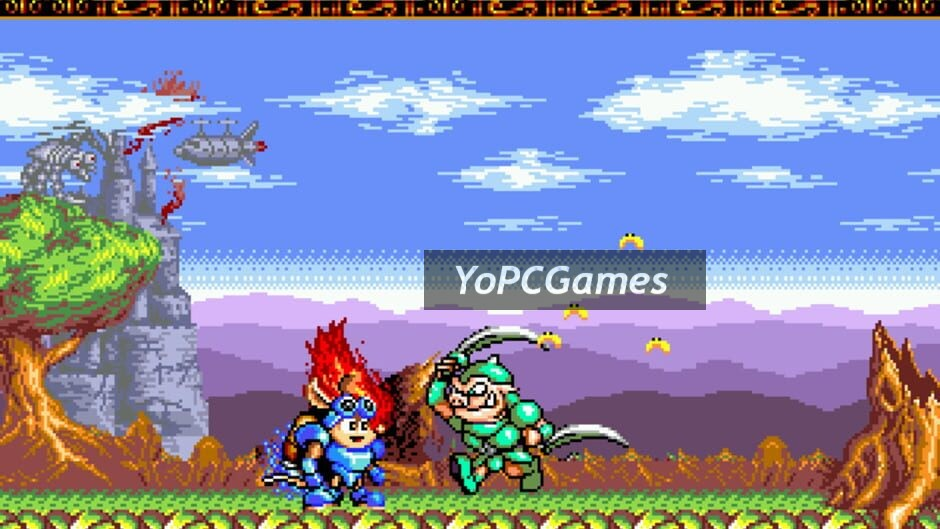 rocket knight adventures screenshot 2