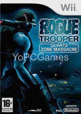 rogue trooper: quartz zone massacre cover