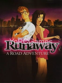 runaway: a road adventure poster