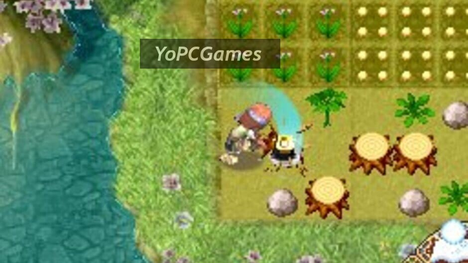 rune factory 2: a fantasy harvest moon screenshot 1