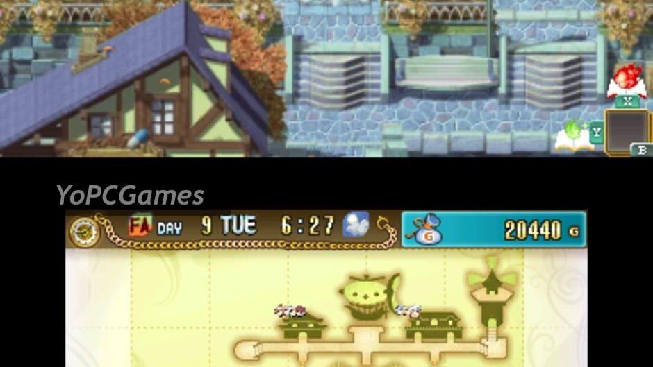 rune factory 4 screenshot 2