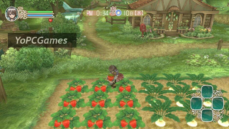 rune factory frontier screenshot 2