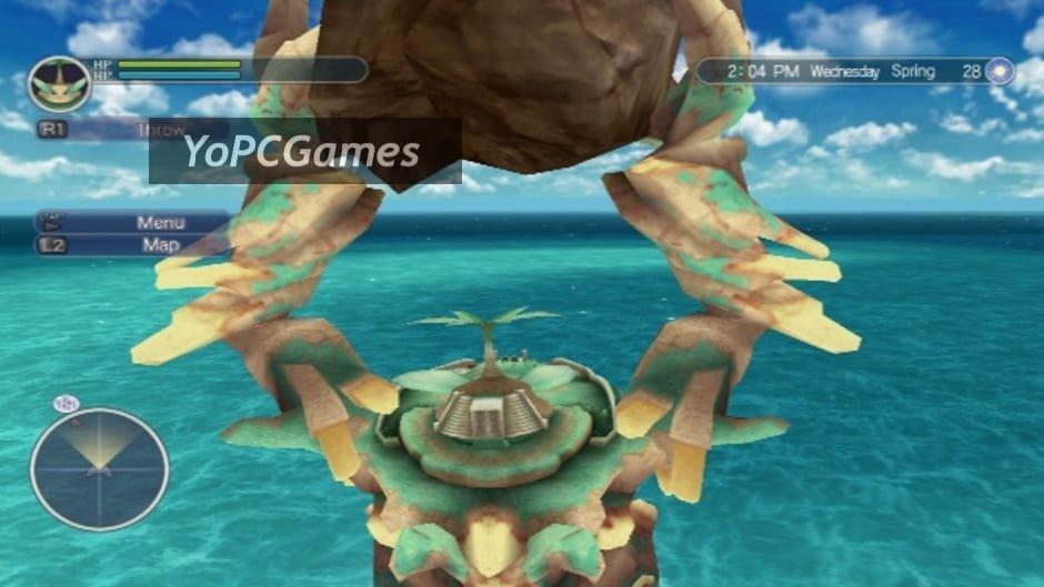 rune factory: tides of destiny screenshot 3