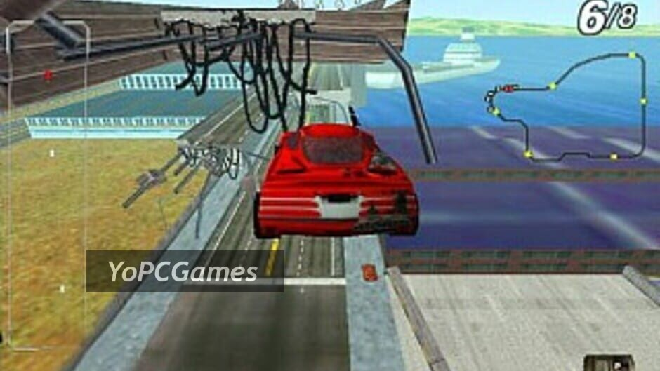 san francisco rush: the rock alcatraz edition screenshot 1