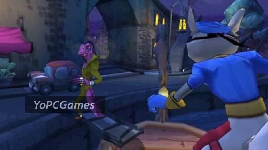 sly 2: band of thieves screenshot 3