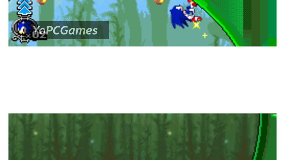 sonic rush adventure screenshot 1
